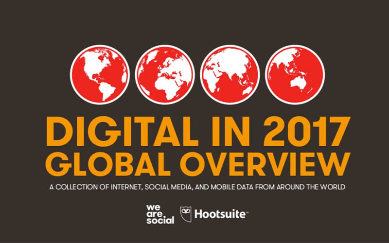 Digital Report von 2017