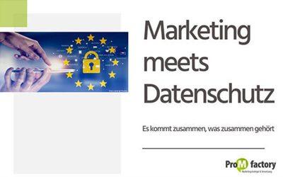 Marketing meets Datenschutz