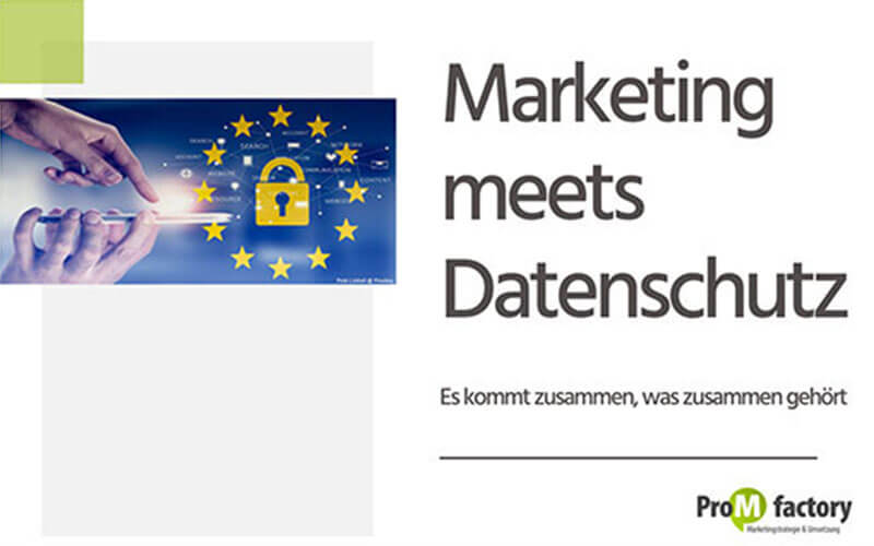 Marketing meets Datenschutz